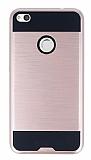 Eiroo Iron Shield Huawei P9 Lite 2017 Ultra Koruma Rose Gold Kılıf