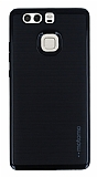 Motomo Huawei P9 Siyah Kenarlı Siyah Silikon Kılıf