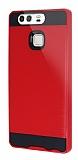 Eiroo Iron Shield Huawei P9 Ultra Koruma Kırmızı Kılıf