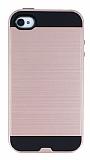 Eiroo Iron Shield iPhone 4 / 4S Ultra Koruma Rose Gold K�l�f
