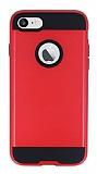 Eiroo Iron Shield iPhone 6 Plus / 6S Plus Ultra Koruma Kırmızı Kılıf