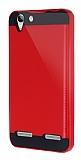 Eiroo Iron Shield Lenovo Vibe K5 Ultra Koruma Kırmızı Kılıf