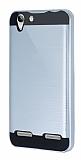 Eiroo Iron Shield Lenovo Vibe K5 Ultra Koruma Silver Kılıf