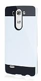 Eiroo Iron Shield LG G3 S / G3 Beat Ultra Koruma Beyaz Kılıf