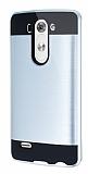 Eiroo Iron Shield LG G3 S / G3 Beat Ultra Koruma Silver Kılıf