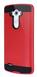 Eiroo Iron Shield LG G3 Ultra Koruma Kırmızı Kılıf