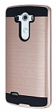 Eiroo Iron Shield LG G3 Ultra Koruma Rose Gold Kılıf