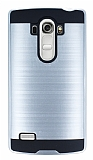 Eiroo Iron Shield LG G4 Beat Ultra Koruma Silver Kılıf