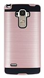 Eiroo Iron Shield LG G4 Stylus Ultra Koruma Rose Gold Kılıf