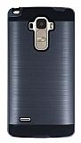 Eiroo Iron Shield LG G4 Stylus Ultra Koruma Dark Silver Kılıf