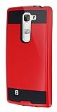 Eiroo Iron Shield LG G4c Ultra Koruma Kırmızı Kılıf