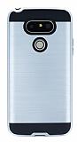 Eiroo Iron Shield LG G5 Ultra Koruma Silver Kılıf