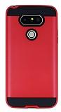 Eiroo Iron Shield LG G5 Ultra Koruma Kırmızı Kılıf