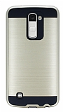 Eiroo Iron Shield LG K10 Ultra Koruma Gold Kılıf