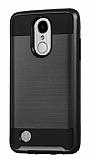 Eiroo Iron Shield LG K8 2017 Ultra Koruma Siyah Kılıf