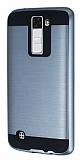 Eiroo Iron Shield LG K8 Ultra Koruma Füme Kılıf