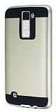 Eiroo Iron Shield LG K8 Ultra Koruma Gold Kılıf