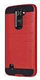 Eiroo Iron Shield LG K8 Ultra Koruma Kırmızı Kılıf