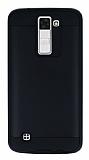 Eiroo Iron Shield LG K8 Ultra Koruma Siyah Kılıf