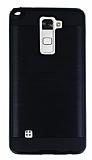 Eiroo Iron Shield LG Stylus 2 / Stylus 2 Plus Ultra Koruma Siyah Kılıf