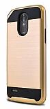 Eiroo Iron Shield LG Stylus 3 Ultra Koruma Gold Kılıf