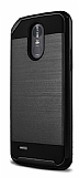 Eiroo Iron Shield LG Stylus 3 Ultra Koruma Siyah Kılıf