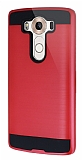 Eiroo Iron Shield LG V10 Ultra Koruma Kırmızı Kılıf