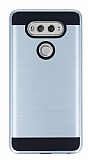 Eiroo Iron Shield LG V20 Ultra Koruma Silver Kılıf
