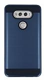 Eiroo Iron Shield LG V20 Ultra Koruma Lacivert Kılıf