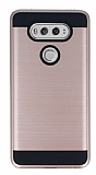 Eiroo Iron Shield LG V20 Ultra Koruma Rose Gold Kılıf