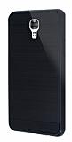 Eiroo Iron Shield LG X screen Ultra Koruma Siyah Kılıf