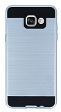 Eiroo Iron Shield Samsung Galaxy A3 2016 Ultra Koruma Silver Kılıf