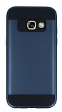 Eiroo Iron Shield Samsung Galaxy A3 2017 Ultra Koruma Lacivert Kılıf