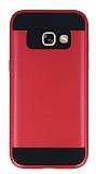 Eiroo Iron Shield Samsung Galaxy A3 2017 Ultra Koruma Kırmızı Kılıf