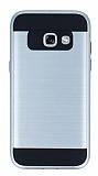 Eiroo Iron Shield Samsung Galaxy A5 2017 Ultra Koruma Silver Kılıf