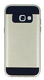 Eiroo Iron Shield Samsung Galaxy A5 2017 Ultra Koruma Gold Kılıf