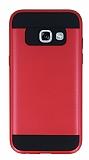 Eiroo Iron Shield Samsung Galaxy A5 2017 Ultra Koruma Kırmızı Kılıf