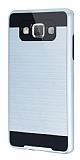 Eiroo Iron Shield Samsung Galaxy A5 Ultra Koruma Silver Kılıf