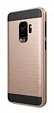 Eiroo Iron Shield Samsung Galaxy A6 2018 Ultra Koruma Gold Kılıf