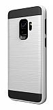 Eiroo Iron Shield Samsung Galaxy A6 2018 Ultra Koruma Silver Kılıf