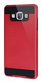 Eiroo Iron Shield Samsung Galaxy A7 Ultra Koruma Kırmızı Kılıf