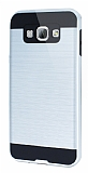 Eiroo Iron Shield Samsung Galaxy A8 Ultra Koruma Silver K�l�f