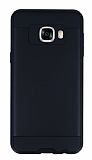 Eiroo Iron Shield Samsung Galaxy C5 Ultra Koruma Siyah Kılıf