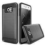 Eiroo Iron Shield Samsung Galaxy C7 Pro Ultra Koruma Siyah Kılıf