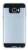Eiroo Iron Shield Samsung Galaxy C7 SM-C7000 Ultra Koruma Silver Kılıf
