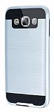 Eiroo Iron Shield Samsung Galaxy E5 Ultra Koruma Silver Kılıf
