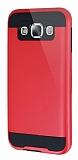 Eiroo Iron Shield Samsung Galaxy E7 Ultra Koruma Kırmızı Kılıf