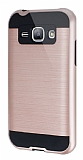 Eiroo Iron Shield Samsung Galaxy J1 Ultra Koruma Rose Gold Kılıf