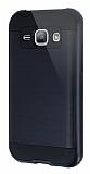 Eiroo Iron Shield Samsung Galaxy J1 Ultra Koruma Siyah K�l�f