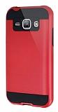 Eiroo Iron Shield Samsung Galaxy J1 Ultra Koruma Kırmızı Kılıf